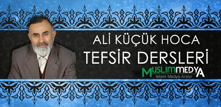 Photo of Ali Küçük – Tefsir Dersleri