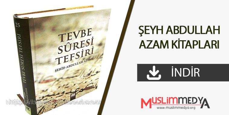 Photo of Şeyh Abdullah Azzam'ın Kitapları (İndir)